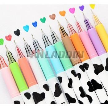 0.38mm Cow patterns gel pen