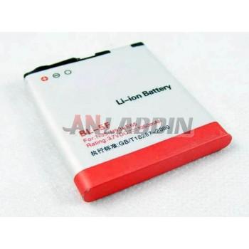 1050mAh mobile phone battery for Nokia N95 6710n