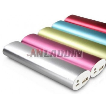 10,400 mA mobile power bank with LED lighting