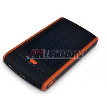 12000 mAh solar laptop mobile power supply 12V / 16V / 19V