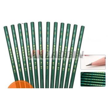 12pcs drawing wooden pencils