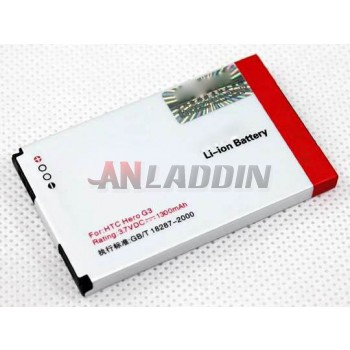 1300mAh mobile phone battery for HTC A6288 T5399
