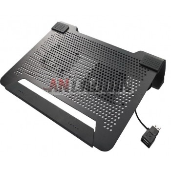 14-inch aluminum laptop cooler