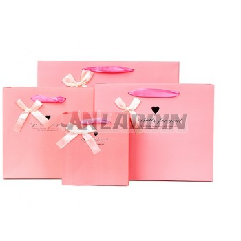 14 ~ 33cm bow gift bag