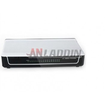 16-port switch / 16-port splitter / Fast switch network switch