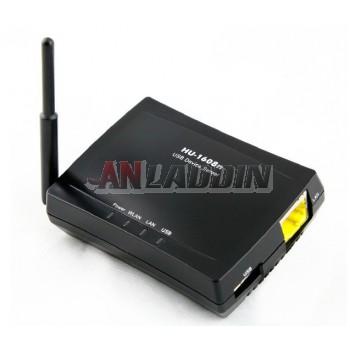 1608N USB Wireless Print Server