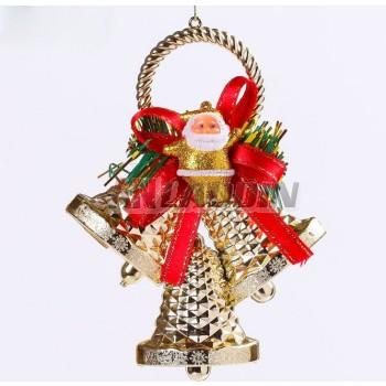 16cm Bells + Santa Claus Christmas Pendant