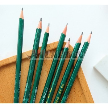 17.5cm hexagonal wooden drawing pencil