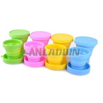170 / 200ml Mini Silicone folding cup