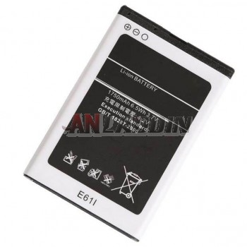 1750mAh mobile phone battery for Nokia e63 / BP-4L enhanced version