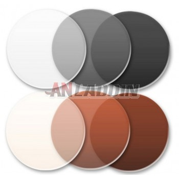 1.56 automatic discoloration resin prescription lens