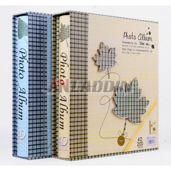 200pcs high capacity interleaf sheet album