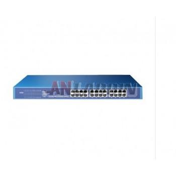 24-port 10/100M Ethernet Network Switch / 24 port network switch / steel rack
