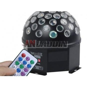 24W 4-color large crystal ball stage laser lights