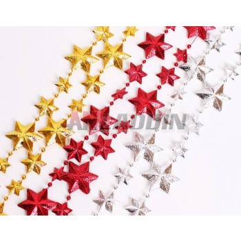 2.7M pointed star Christmas chains