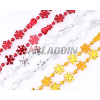 2.7M snowman + snowflake Christmas decoration chain