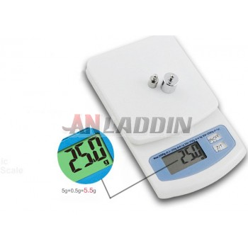 2kg/0.1g mini kitchen electronic scale
