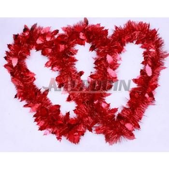 2M PET thickened Christmas ribbon