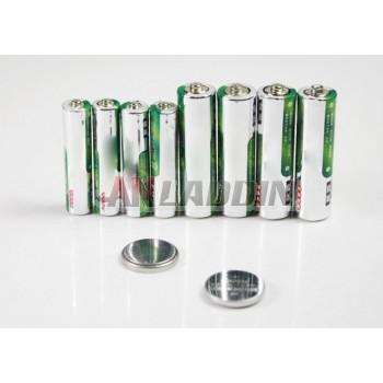 2pcs CR2032 button battery +4 pcs AA carbon battery +4 pcs AAA carbon batteries
