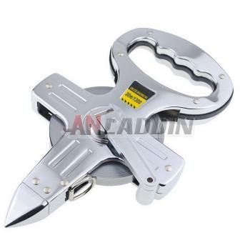 30/50M aluminum frame steel tape
