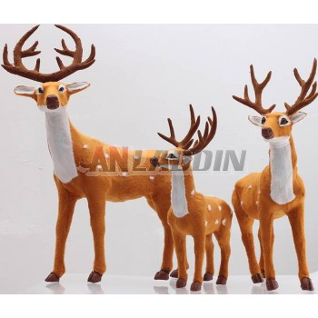 34-52cm Christmas sika deer