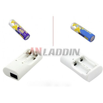 3.2V AA lithium iron phosphate rechargeable battery kit