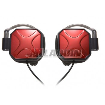 3.5mm Ear Hook Headphone with Microphone for PC