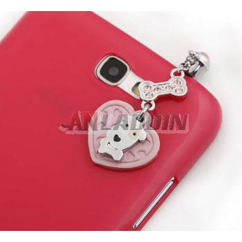 3.5MM headphone jack dog dust plug