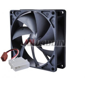 2/3 Pin Power Supply Interface 12cm Power Fan