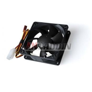 3 Pin Power Supply Interface 8cm Power Fan