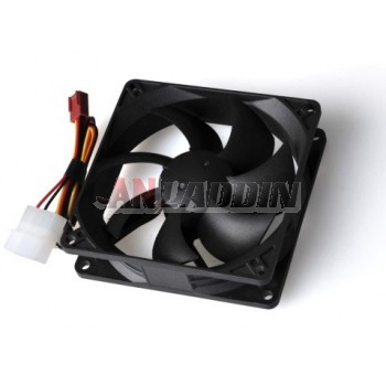 3/4 Pin Power Supply Interface 9cm Power Fan