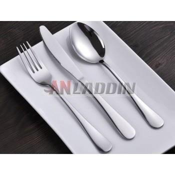 3pcs stainless steel knife and fork cutlery set