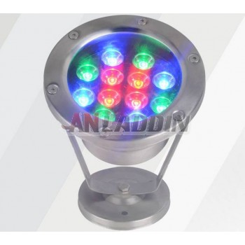 3W- 24W 12V stainless steel underwater LED spotlights