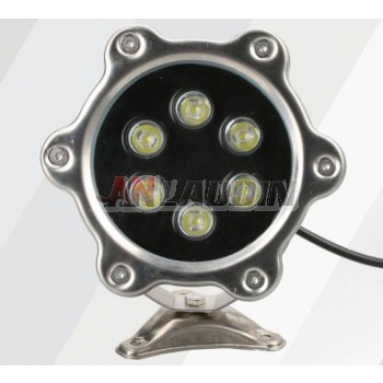 3W- 9W 12V stainless steel underwater LED spotlights