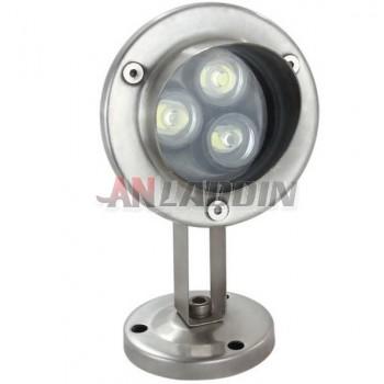 3W 12V underwater fountain LED spotlights