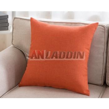 45 ~ 55cm solid color linen pillow cover