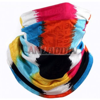45cm seamless riding headscarf