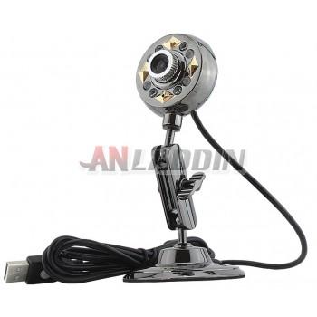 497M Usb 12MP HD Webcam PC Camera with Microphone