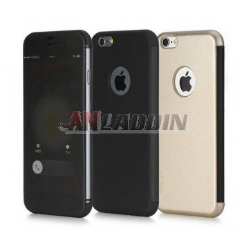 4.7 inches flip smart protective cover for iphone 6