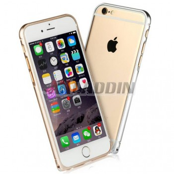 4.7 inches metal border protective cover for iphone 6