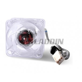 4 cm transparent fan for the Northbridge and Southbridge Heatsink