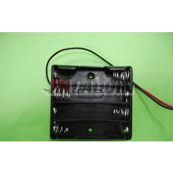 4pcs AAA Battery Case 6V