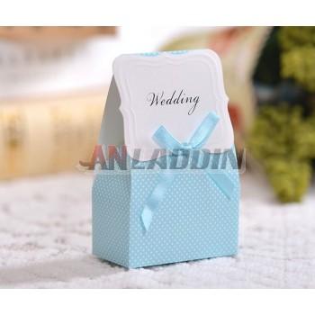 50pcs European style wedding paper favor bag