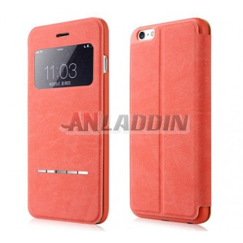 5.5 inches flip protective cover with stand for iphone 6 plus