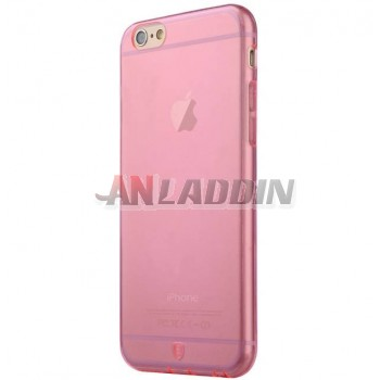 5.5 inches transparent silicone case for iphone 6 plus