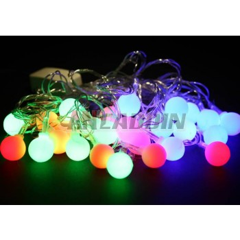 5.5m 28pcs Balls Christmas LED lights