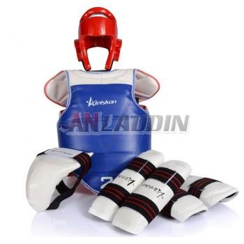 5pcs taekwondo protector kit