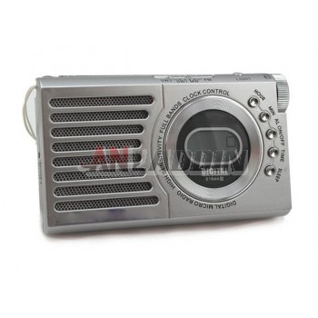 6184A full-band mini portable radio