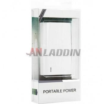 6600 mA portable mobile power bank