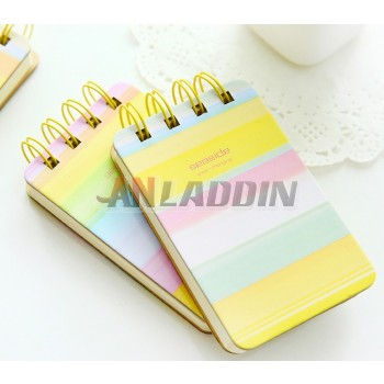 6.2 * 10cm lovely coil binding notebook